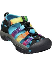Keen Newport H2 Sandals - Rainbow Tie Die - Children