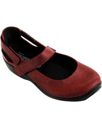 Arcopedico L51-4053 Shoe - Cherry Red - Womens