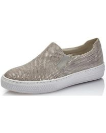 Rieker L5966-42 Shoe - Grey - Womens