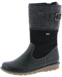 Remonte R1075-02 Boot - Black - Womens