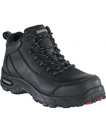 Reebok Black Waterproof  Safety-Toe Hiker - Mens