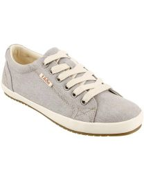 Taos Star Shoes - Grey Wash Canvas - Womens