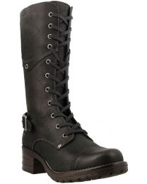 Taos Crave Tall Boot - Black Rugged - Womens