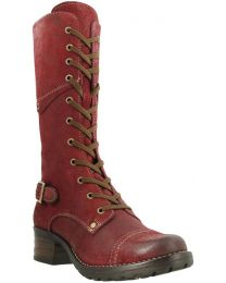 Taos Crave Tall Boot - Red Rugged - Womens