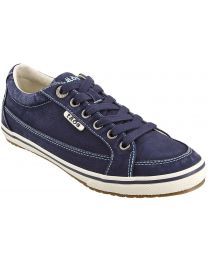 Taos Moc Star Shoes - Navy Distressed - Womens
