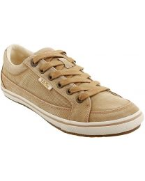 Taos Moc Star Shoes Wide - Tan Distressed - Womens