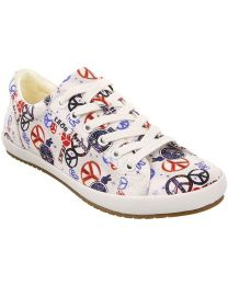 Taos Star Shoes - Peace Print - Womens