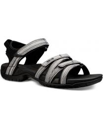 Teva Tirra Sandals - Black/White Multi - Womens