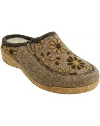 Taos Woolderness 2 Clog - Taupe - Womens