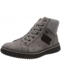Rieker Z4230-40 Boot - Grey - Womens