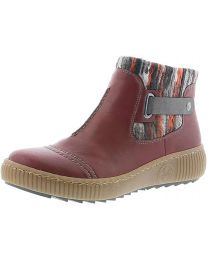 Rieker Felicitas Z6684-35 Boot - Wine - Womens