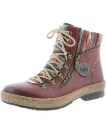 Rieker Felicitas Z6741-35 Boot - Wine - Womens