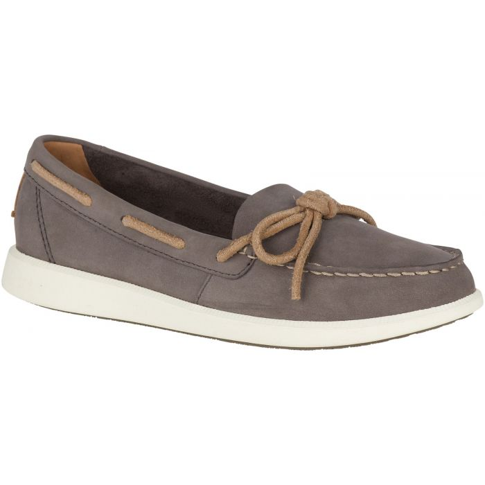 Sperry Oasis Canal Boat Shoe - Graphite
